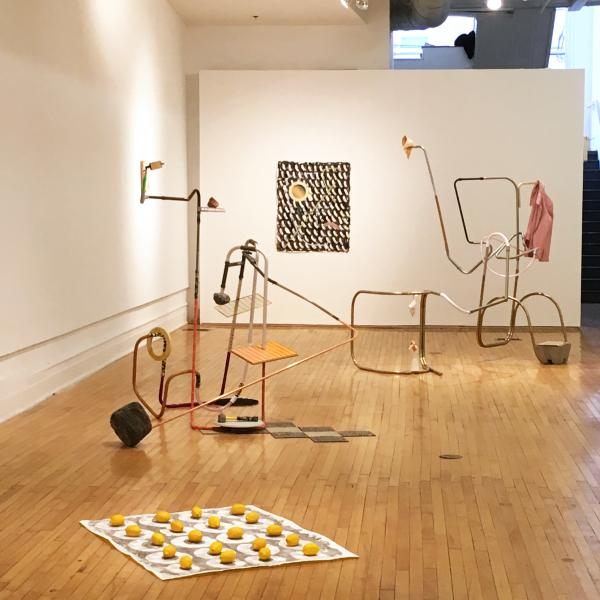 Exhibition View, Lisa & Janelle Iglesias: seesaw / seasaw